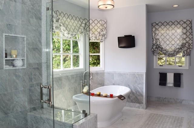 A Master Bath Boy S Bath And Guest Bath Remodel For A Studio City