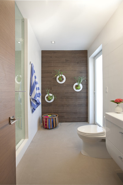A Modern Miami Home Modern Bathroom Miami By Dkor
