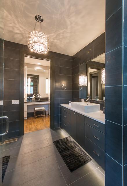 A mountain modern home asheville nc contemporary for Bath remodel asheville nc