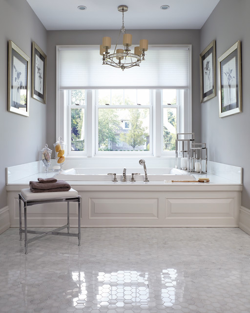 A new home in the New York Suburbs traditional-bathroom