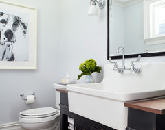 A new home in the New York Suburbs transitional-bathroom