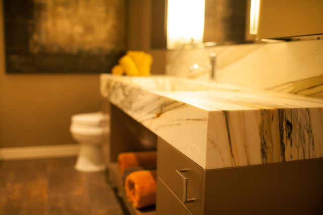 A New Point of View traditional-bathroom
