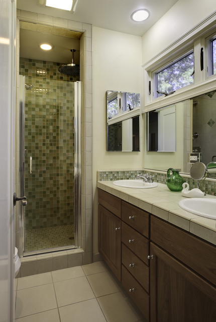 A Petaluma remodel traditional bathroom