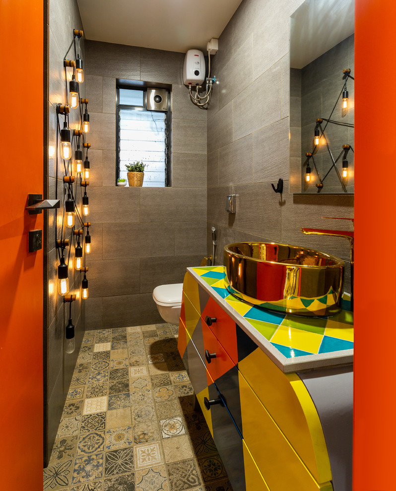 A residence by Brinda - Eclectic - Bathroom - Mumbai - by ...