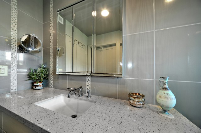 A Shower Room That Sparkles Modern Bathroom Los