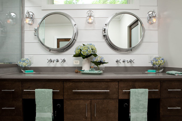 Amazing A Touch Of Nautical Beach Style Bathroom