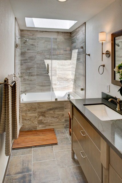 New Rustic Modern   Bathrooms   Pinterest