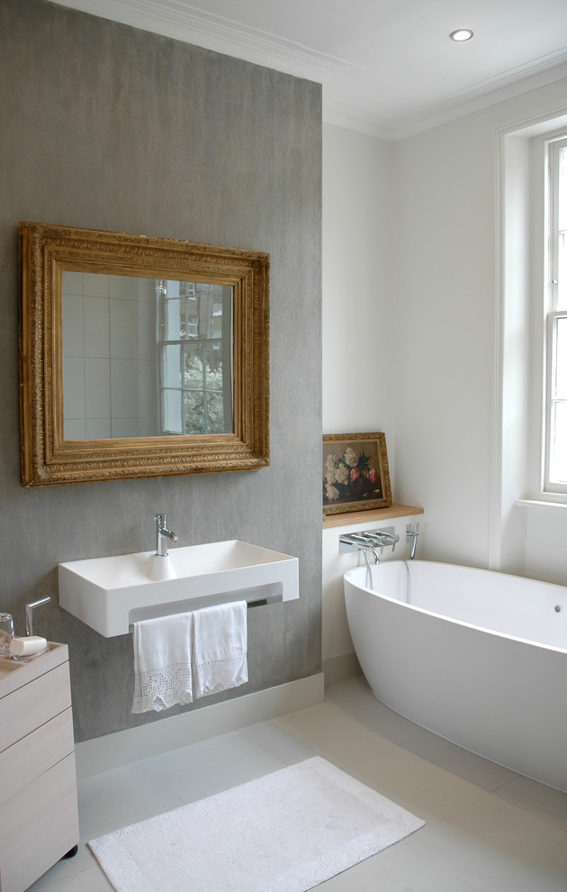A Victorian House Bathroom Modern Bathroom London By Heat Architecture London
