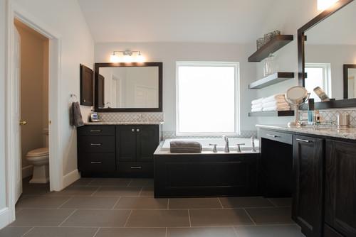 Master bathroom transformation keller tx for Bathroom remodel keller tx