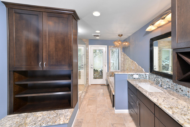 aaa Strongsville master suite bathroom traditional-bathroom