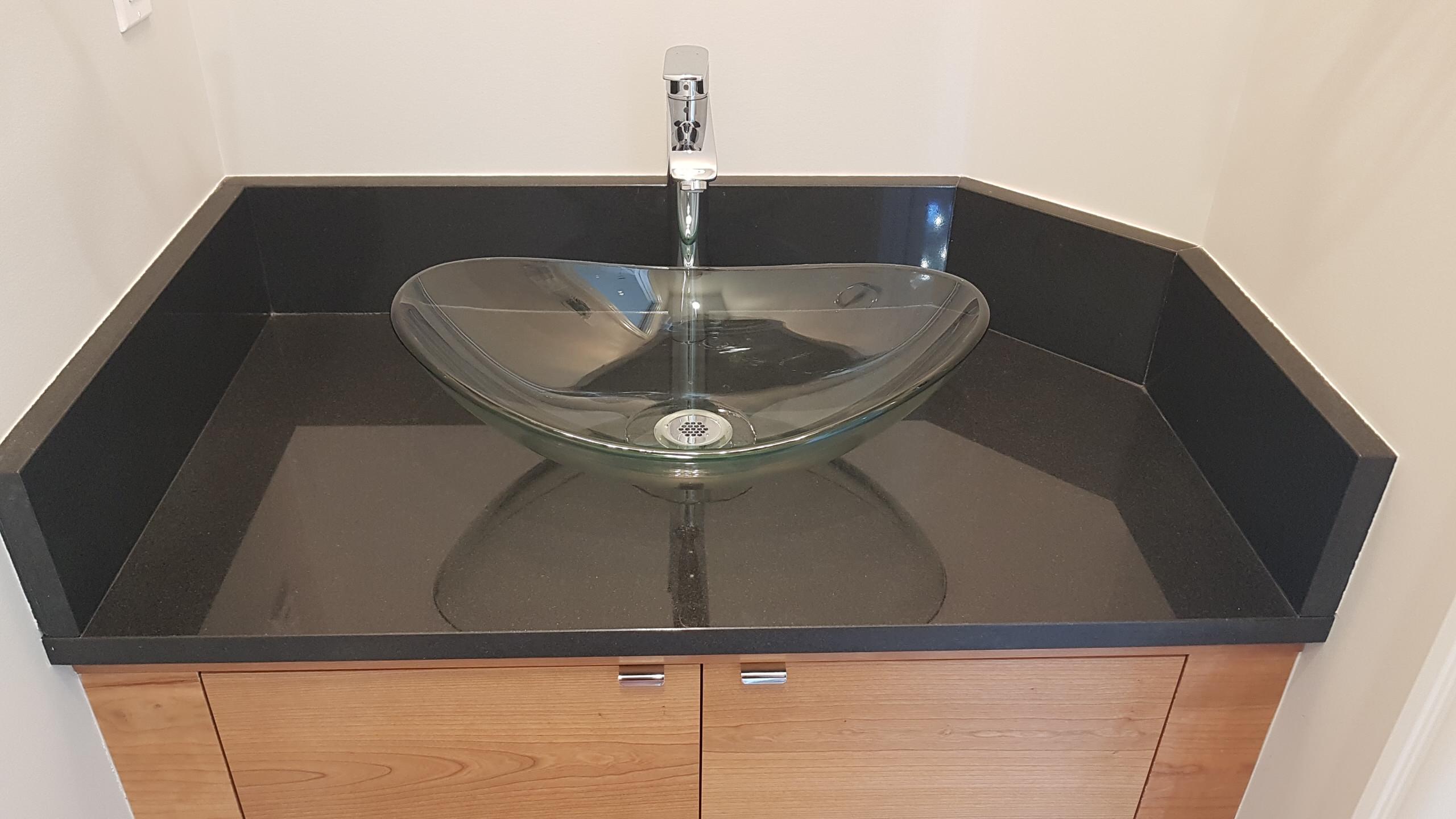 Absoulte Black Granite Vanity Countertop