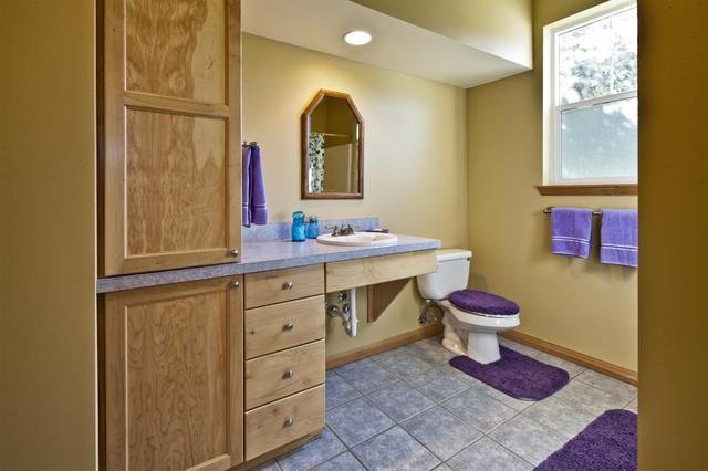 Accessible Bath Design Traditional Bathroom Seattle By Dmh Design