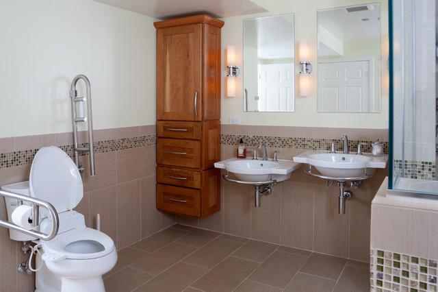 Accessible Bathroom Bathroom Dc Metro By Glickman Design Build