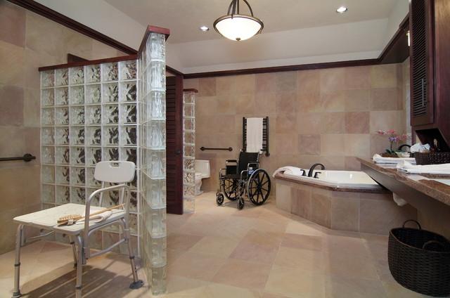 Accessible Bathroom Remodel traditional-bathroom