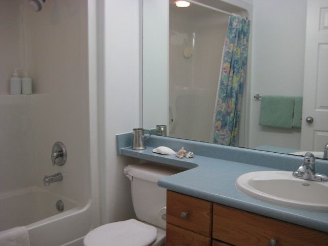 accessible bathroom with antimicrobial surfaces - Contemporary - Bathroom - Other - by Laurie ...