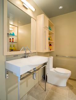 Accessible design bath remodel contemporary bathroom for Bathroom design principles