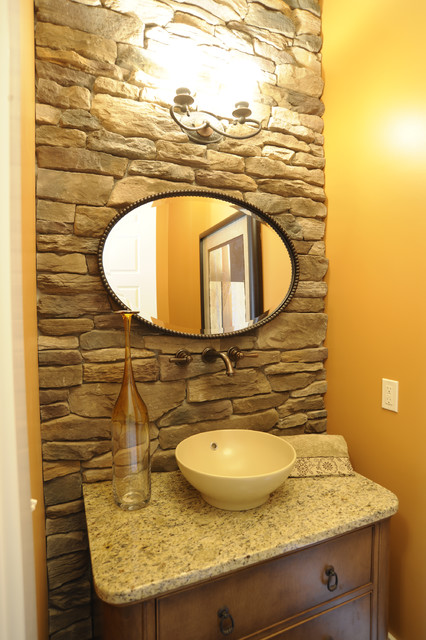 Ackerly Park ~ New Albany, Ohio modern-bathroom