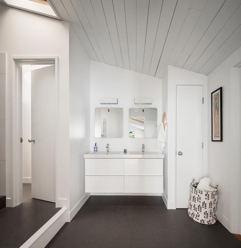 Acorn Again - Midcentury - Bathroom - Portland Maine - by ...