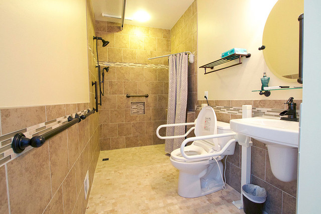 Ada bathroom remodel contemporary bathroom dc metro for Handicapped bathroom design