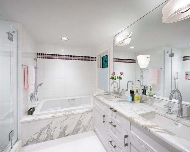 marble tile bathroom   houzz