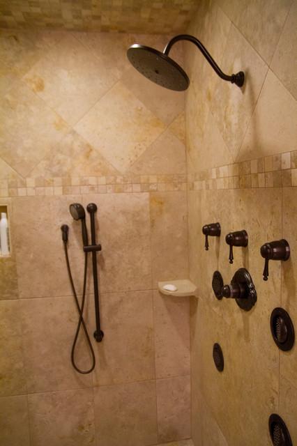 Addition / remodel traditional-bathroom
