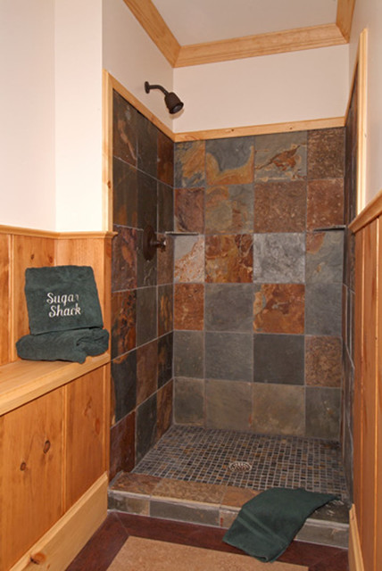 Adirondack camp traditional bathroom boston by for Adirondack bathroom ideas