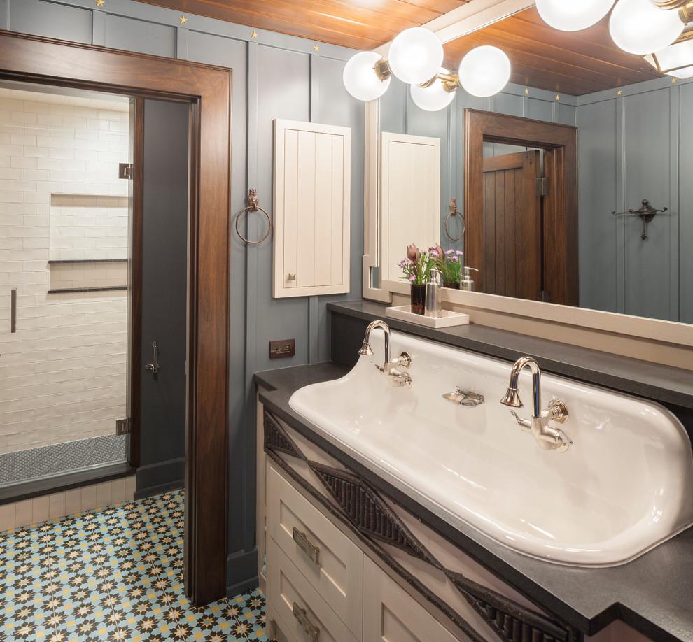 Adirondack Lodge - Rustic - Bathroom - Grand Rapids - by ...