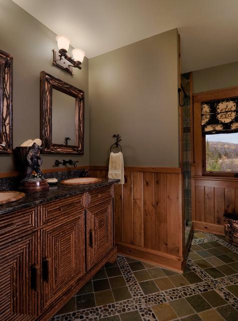 Adirondack retreat for Adirondack bathroom design