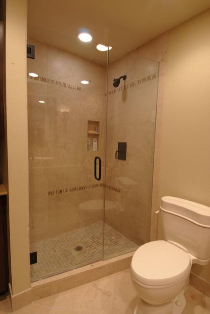African Inspired Modern Bathroom Modern Bathroom