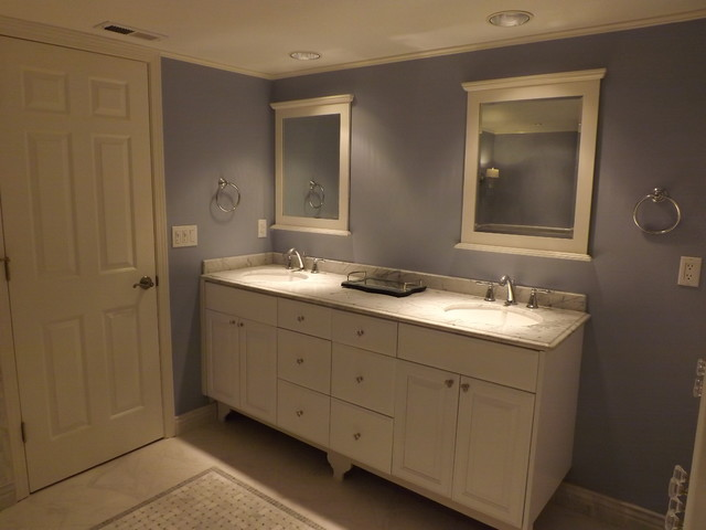 After- A soft and stylish place to begin and end your day. traditional-bathroom