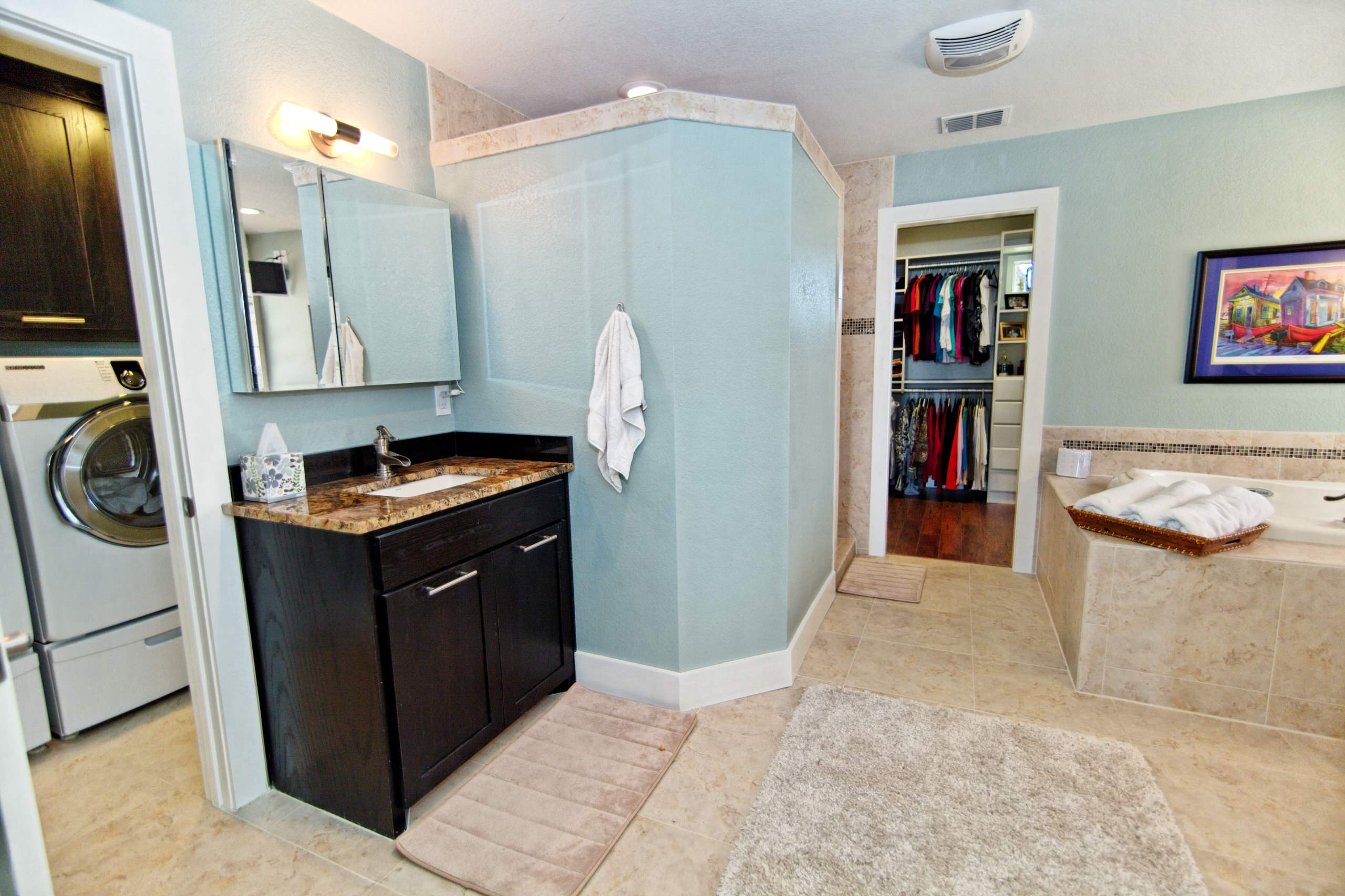 After: New Master Bath