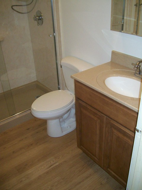 After picture of toilet and vanity traditional bathroom other by re bath of tulsa - Bathroom cabinets tulsa ...