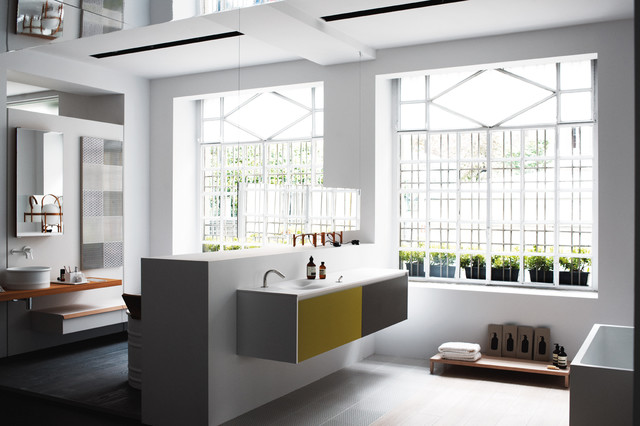 Agape Milan Showroom Modern Bathroom