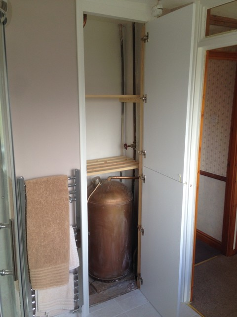 Fabulous Airing Cupboard Shaker Style Door Traditional Bathroom Home Interior And Landscaping Ologienasavecom
