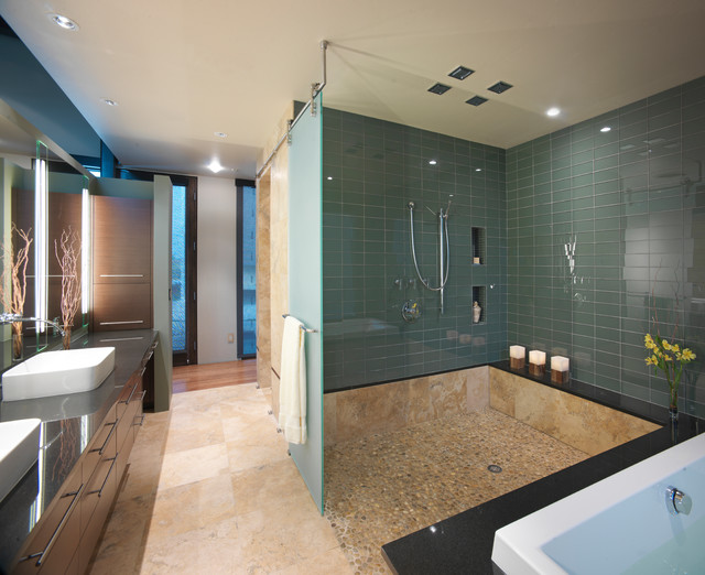 Airport House - Denver Contemporary Residence contemporary-bathroom