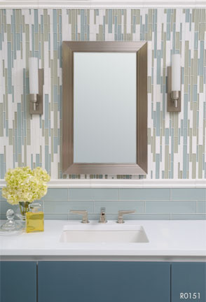 Akdo Collection by Imperial Tile contemporary-bathroom