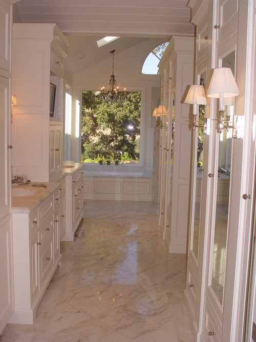 Are Polished Marble Floors Slippery In A Bathroom When Wet?