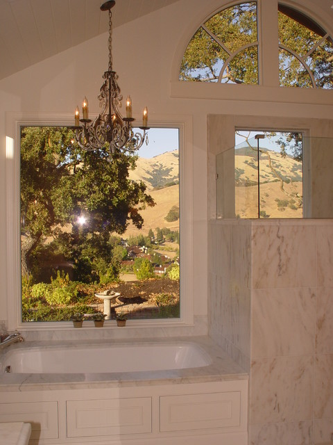 Alamo Residence traditional-bathroom
