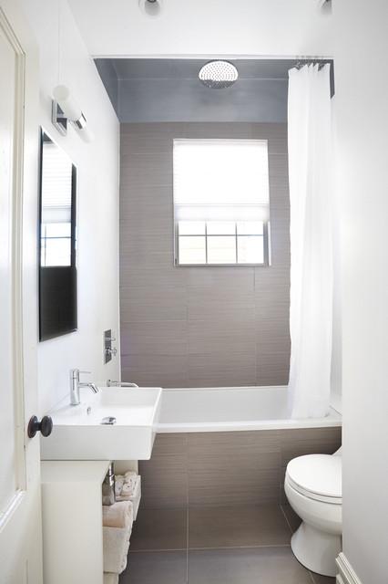 alamo square guest bathroom - contemporary - bathroom - san francisco