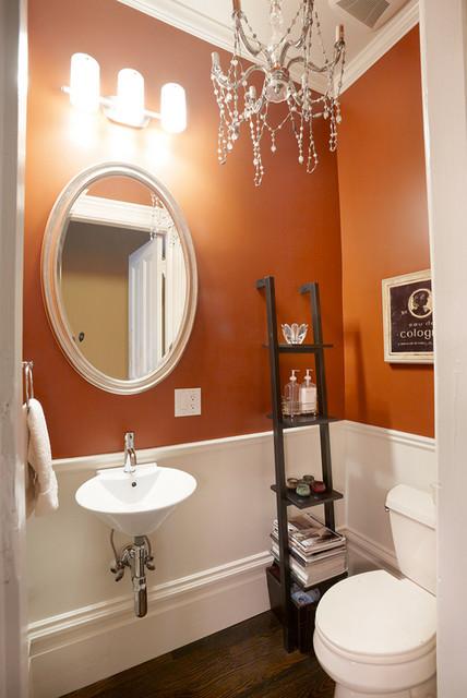 Alamo Square Half Bathroom contemporary-bathroom