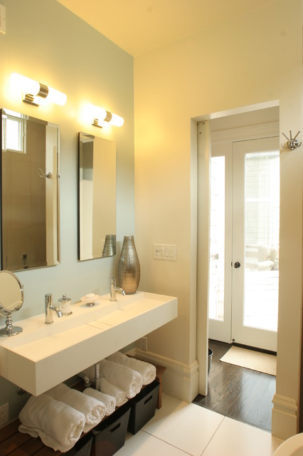 Alamo Square Master Bedroom Bathroom Remodel Contemporary Bathroom San Francisco By