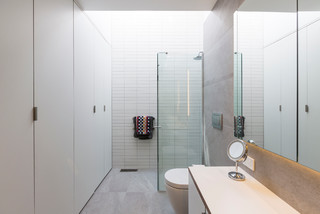 Albany Rd Villa Alteration Addition Contemporary Bathroom Auckland By Caaht Studio