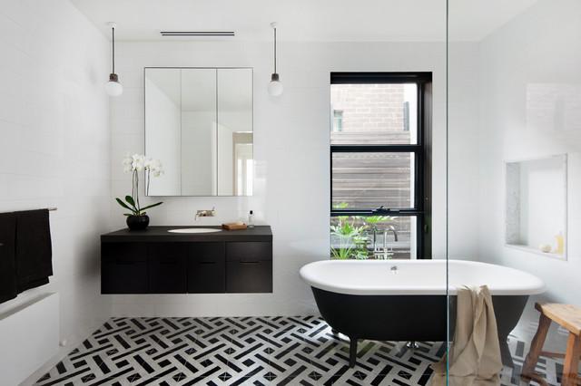 Albert Park House contemporary-bathroom