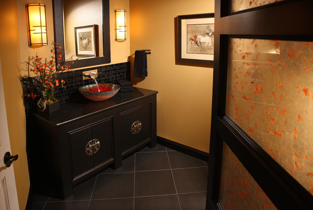 Leslie J. Jensen, CMKBD - asian - bathroom - seattle - by ...