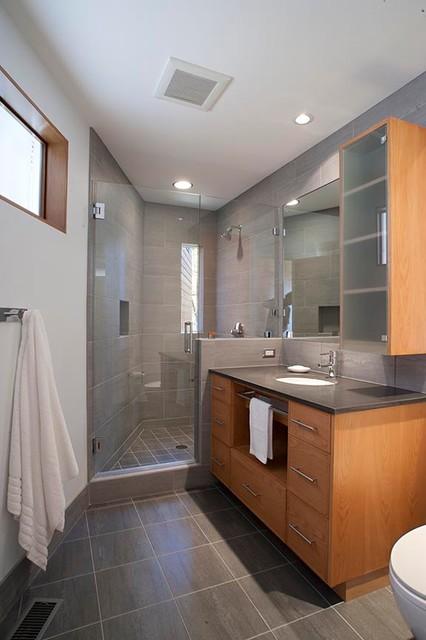 Aleph House modern-bathroom