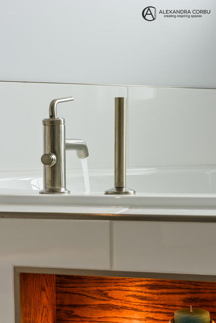 ... Corbu Design - bathrooms in private residence contemporary-bathroom