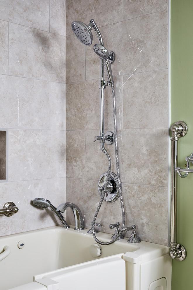 Alexandria, VA - ADA Bathroom Remodel - Traditional ...