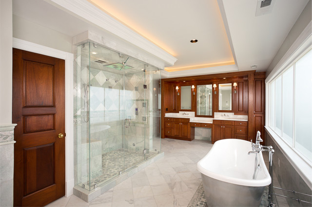 Alexandria Va Master Bath Near Mount Vernon Traditional Bathroom Dc Metro By Graves