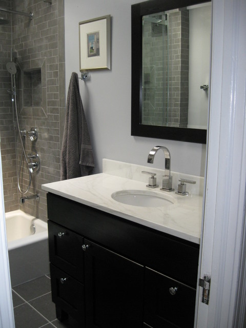 Alexandria VA Row House Contemporary Bathroom Dc Metro By Old Town Ba