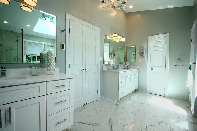 Alexandria Va Spa Like Master Bath Traditional Bathroom Dc Metro By Nvs Remodeling